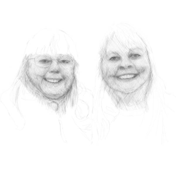 tlbtlb.com tlbimages: Charlie and Julie, pencil study