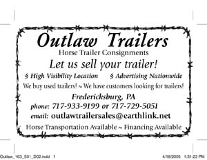 tlbtlb.com tlbimages: Equiery Ad - Outlaw Trailers client