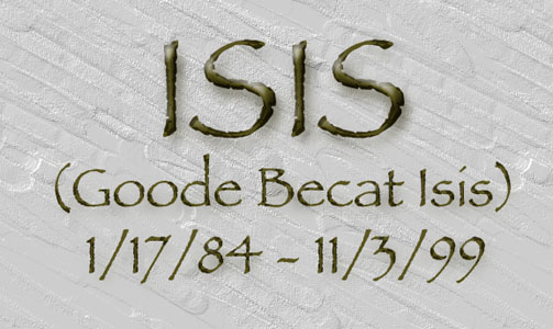 Isis, dates